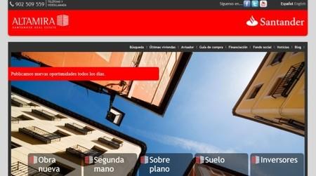 Altamira Santander permite que los posibles compradores propongan el precio de la vivienda