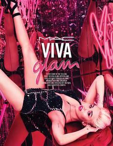 Miley Cyrus es la nueva imagen de Viva Glam de MAC