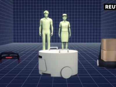Una roomba, un carguero y un exoesqueleto: tres robots a tu servicio en el aeropuerto de Tokio