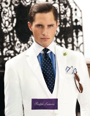 Elegancia impecable en la campaña de Ralph Lauren Purple Label Primavera-Verano 2012