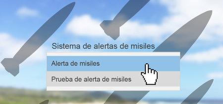 Cómo una mala interfaz ayudó a 'lanzar' un inexistente ataque con misiles sobre Hawái