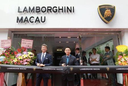 Lamborghini ya tiene 15 concesionarios en China y sigue creciendo