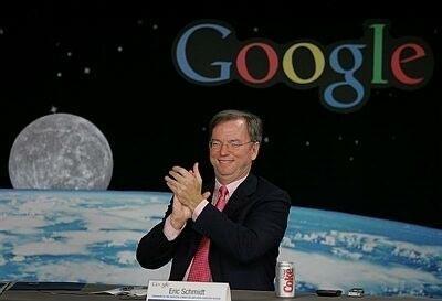 Eric Schmidt, de Google, se une a la dirección de Apple