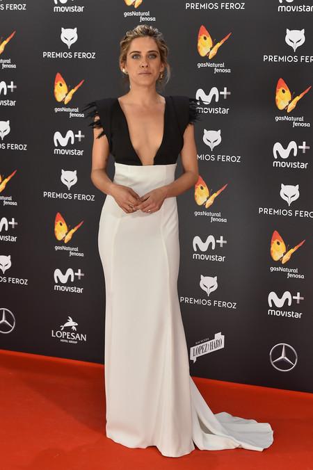 Maria Leon En Los Premios Feroz 2017