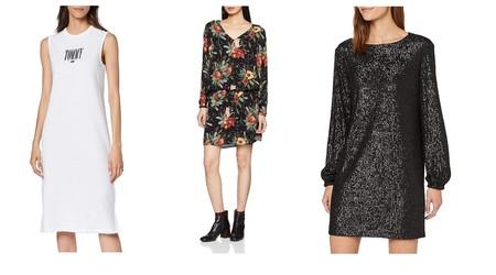 Ofertas en vestidos Tommy Hilfiger, Pepe Jeans o Guess en Amazon: tallas sueltas por menos de 35 euros