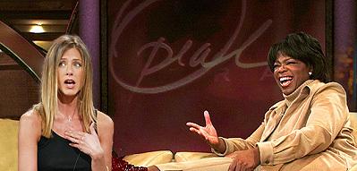 Jennifer Aniston quiere ser Oprah Winfrey
