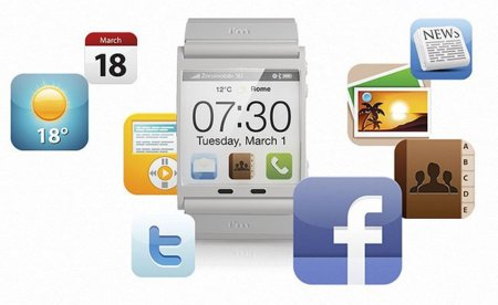 I'mWatch. Llega otro reloj de pulsera con Android