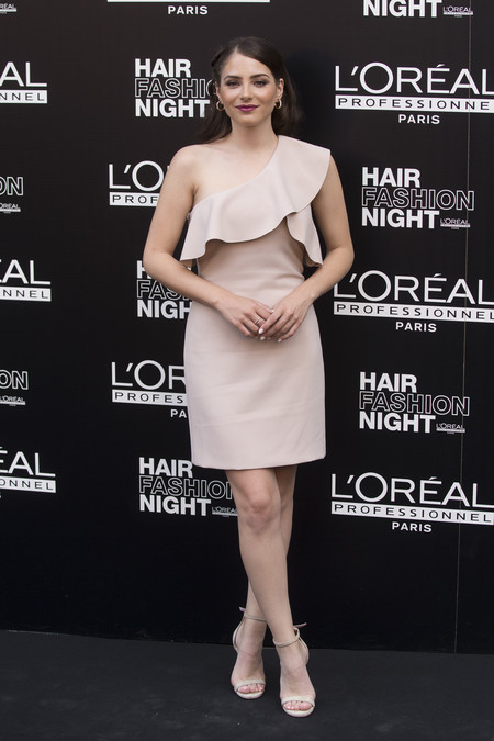 hair fashion night loreal paris madrid celebrities famosas Andrea Duro