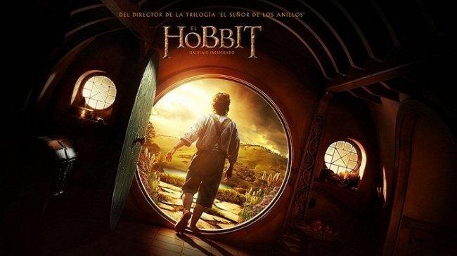 Imagen con el cartel de 'El Hobbit: Un Viaje Inesperado'