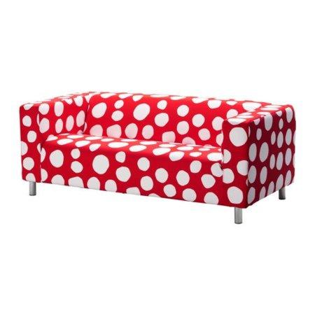 Sofá lunares Ikea