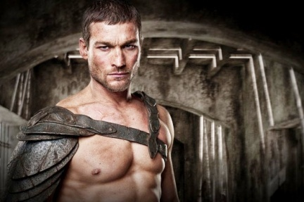 Andy Whitfield, conociendo a Espartaco