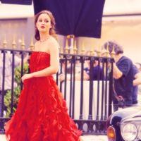Blair Waldorf (Leighton Meester) de Oscar de la Renta