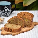 Bizcocho fácil de plátano semiintegral con cacahuetes: receta para un desayuno o dulce merienda con energía