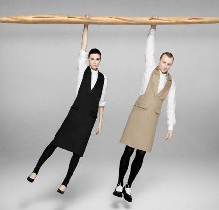 Un delantal para cocinar moda