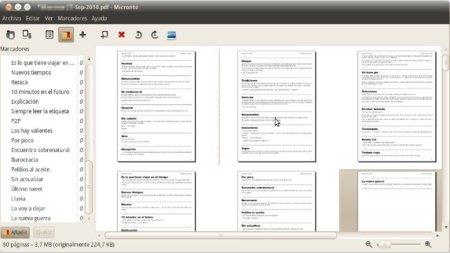 PDF Mod: modifica y combina PDFs en Linux visualmente