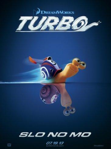 Un caracol veloz es el protagonista de Turbo la nueva película de Dreamworks