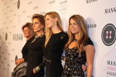 Las invitadas a los Mango Fashion Awards 2010