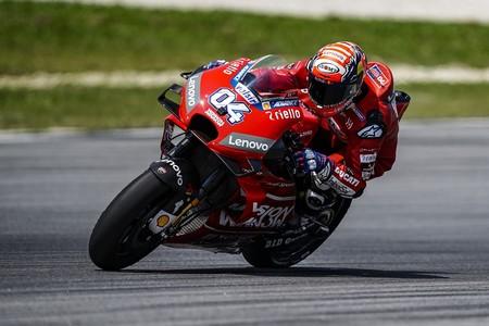 """Andrea Dovizioso: """"Ver cuatro Ducati en las primeras posiciones confirma que tenemos una buena base"""""""