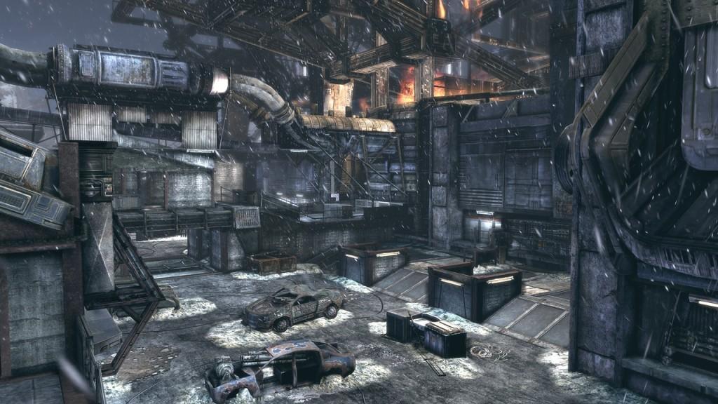 'Gears of War 2' mapas Snowblind