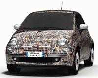 Tu cara en el Fiat 500 Thousandth