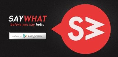 SayWhat te ayuda a conocer el motivo de una llamada antes de descolgar tu móvil Android