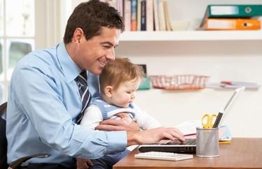 Trabajar en casa cuando estás rodeado de niños