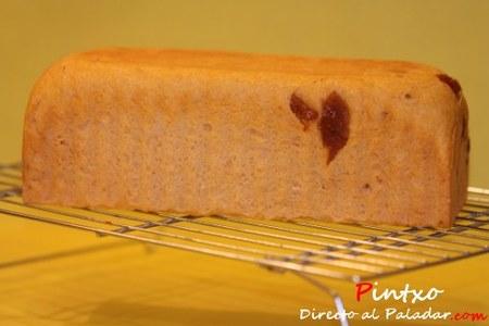 Pan de molde de tomate. Receta