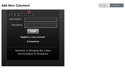Disqus ahora permite grabar comentarios de vídeo gracias a Seesmic