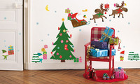 Pegatinas decorativas navideñas