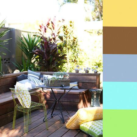 Color en la terraza 2