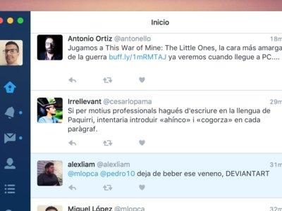 Twitter para Mac recibe su esperada renovación y se pone al día