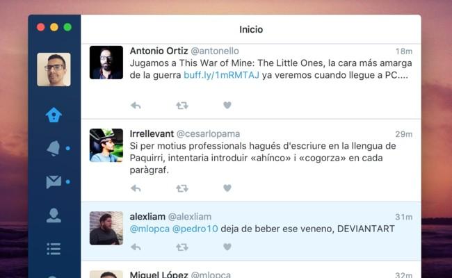 Twitter Mac