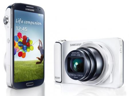 Samsung Galaxy S4 Zoom con zoom óptico