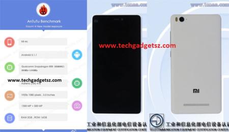 Xiaomi Mi4C en Antutu y Teena
