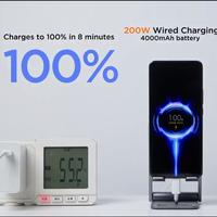 Xiaomi demuestra su brutal carga rápida HyperCharge de 200W: carga completa de 4,000 mAh en solo ocho minutos