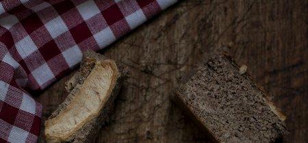 Bizcocho fitness de avena, canela y manzana. Receta proteica