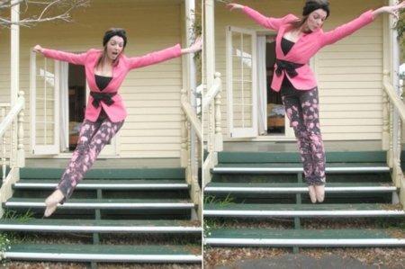 Día contra el Cáncer de Mama, blazer rosa