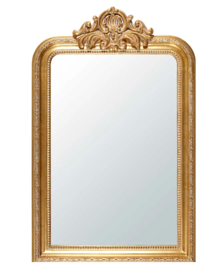Espejo con molduras doradas 77x120