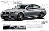 Se filtra información del BMW M5 30º Aniversario