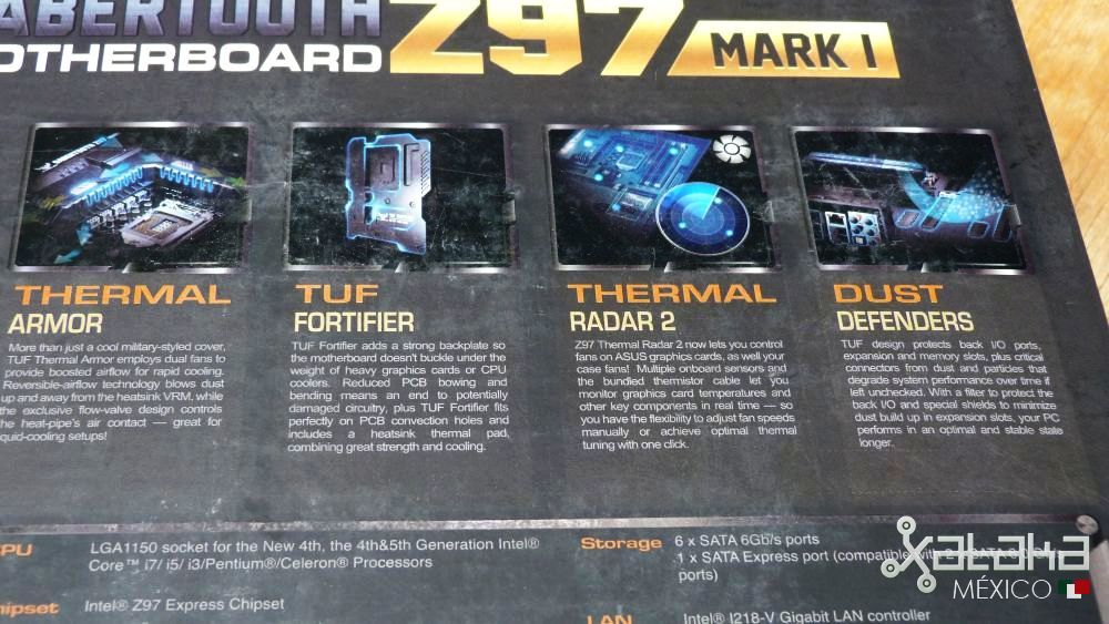 Foto de ASUS Sabertooth Z97 MARK 1: Empaque (9/9)
