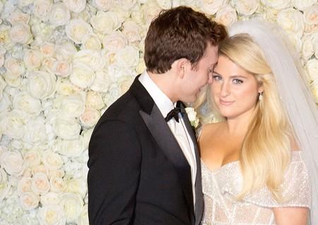 La cosa va de bodas: del vestido de novia de Meghan Trainor al anillo de compromiso de Heidi Klum
