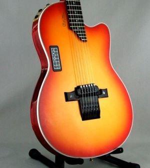 Afinador automático para guitarra acústica