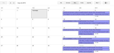 Calendario de competiciones internacional y nacional, 3 al 5 de mayo