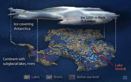 Así sería la Antártida sin hielo