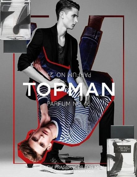 Topman presenta el número 16 y el número 27 sus dos nuevos perfumes