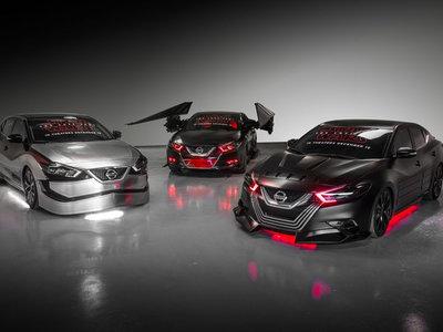 """Nissan viaja a otra galaxia presentando seis vehículos inspirados en """"Star Wars: El Último Jedi"""""""