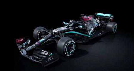 Mercedes cambia el plata por el negro en su coche de Fórmula 1 y correrá así en 2020 para luchar contra el racismo