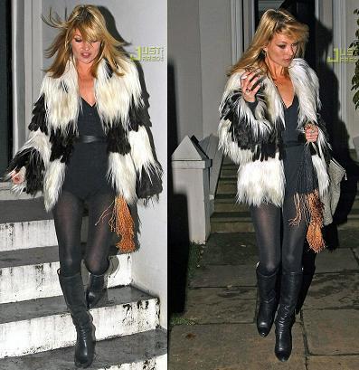 Abrigo de Fendi: ¿Kate Moss o Kate Bosworth?