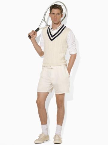 Look vintage de tenis