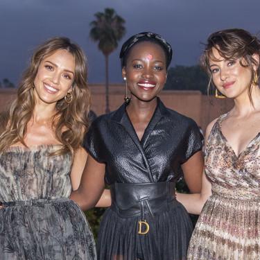 Todas las celebrities del 'front row' del desfile de Dior: una primera fila capitaneada por Lupita Nyong'o
